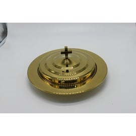Luxury Design Brass toned elegant Communion Tray