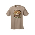 Men's T-Shirt Different Breed Horses Collage Wildlife Untaimed Freedom Farm Tee - Thumbnail 3