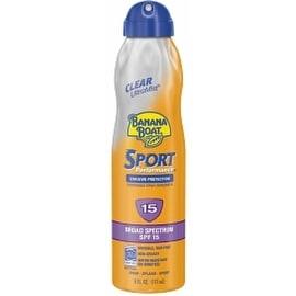 Banana Boat Sport Performance Continuous Spray Sunscreen, SPF 15 6 oz
