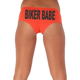 Women's Sexy Hot Booty Boy Shorts Biker Babe Block Black Bold Style Type Lingerie