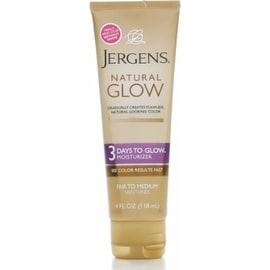 Jergens Natural Glow 3 Days to Glow Moisturizer, Fair to Medium 4 oz