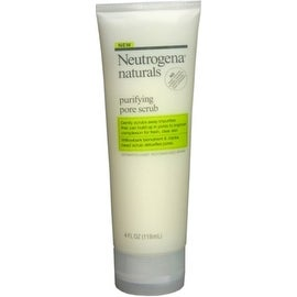 Neutrogena Naturals Purifying Pore Facial Scrub 4 oz
