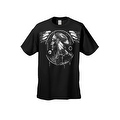 Men's T-Shirt Dreamcatcher Indian Native American Hawk Day & Night Wings Tee - Thumbnail 6