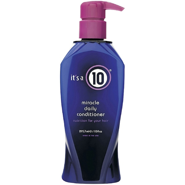 it's a 10 Miracle Daily Conditioner 10 oz