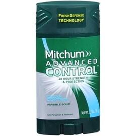 Mitchum Advanced Control Anti-Perspirant Deodorant Invisible Solid Clean Control 2.70 oz