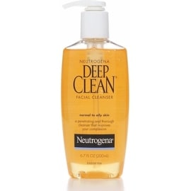 Neutrogena Deep Clean Facial Cleanser, Normal to Oily Skin 6.70 oz