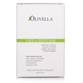 Olivella 5.29-ounce All Natural 100-percent Vigin Olive Oil Face & Body Soap Original