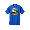 Men's T-Shirt Bald Eagle in Nature USA Forever Freedom American Heritage Tee - Thumbnail 7