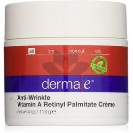 Derma Anti-Wrinkle Vitamin A Retinyl Palmitate Creme 4 oz