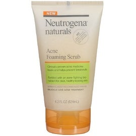Neutrogena Naturals Acne Foaming Scrub 4.2 oz