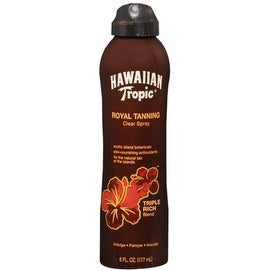 Hawaiian Tropic Royal Tanning Blend Spray 6 oz