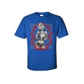 Men's T-Shirt Sexy Cowgirl Marilyn Vintage Hot Western Outlaw Blonde Bombshell - Thumbnail 7