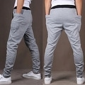 Mens Casual Jogger Dance Sportwear Baggy Harem Pants Slacks Trousers Sweatpants - Thumbnail 14