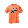 Men's Funny T-Shirt I Love My Hot Wife Adult Humor Tee Husband Marriage S-5XL - Thumbnail 0