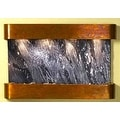Adagio Sunrise Springs With Black Spider Marble in Rustic Copper Finish and Roun - Thumbnail 8