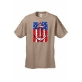 Men's USA Flag T-Shirt Anchor Navy Stars & Stripes Sailor American Pride Tee - Thumbnail 2