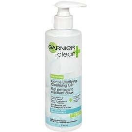 Garnier Clean+ Gentle Clarifying Cleansing Gel 8 oz