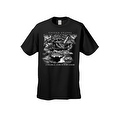 Men's T-Shirt United States Navy A Global Force For Good Military Naval Graphic Tee - Thumbnail 4