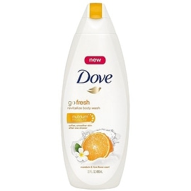 Dove Go Fresh Revitalize Body Wash, Mandarin & Tiare Flower Scent 22 oz