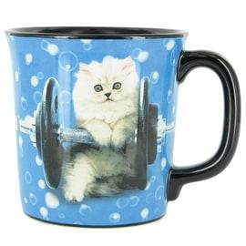 Keith Kimberlin Kitten with Weight Coffee Mug
