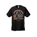 MEN'S BIKER T-SHIRT MOTORCYCLE MECHANIC SHOP BOBBER GARAGE L.A. S-XL 2X 3X 4X 5X - Thumbnail 0