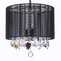 Empress Crystal Chandelier Lighting Dressed With Crystal Grapes H15 x W15