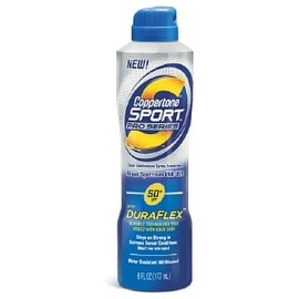 Coppertone Sport 6-ounce Pro Series Clear Continuous Spray Sunscreen SPF 50+