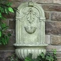 Sunnydaze Florence Outdoor Wall Fountain - Thumbnail 8