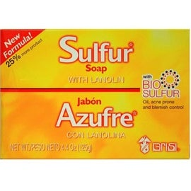 Grisi Bio Sulfur Soap with Lanolin, 4.4 oz