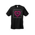 UNISEX T-SHIRT 'Think Pink' SUPPORT BREAST CANCER AWARENESS RIBBON S-5XL - Thumbnail 4