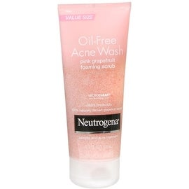Neutrogena Oil-Free Acne Wash Pink Grapefruit Foaming Scrub 6.70 oz