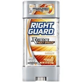Right Guard Xtreme Heat Shield Antiperspirant & Deodorant Gel, Mirage 4 oz