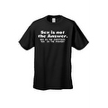 MEN'S FUNNY T-SHIRT Sex is not the Answer. Sex is the Question YES is the Answer - Thumbnail 2