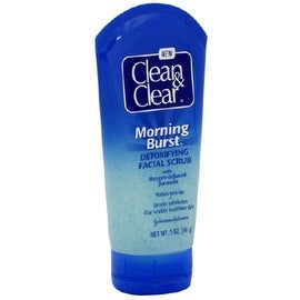 CLEAN & CLEAR Morning Burst Detoxifying Facial Scrub Oil-Free 5 oz