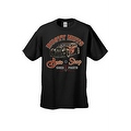 MEN'S T-SHIRT 'RUSTY NUTS AUTO SHOP' USED PARTS CAR AUTOMOBILE S-XL 2X 3X 4X 5X - Thumbnail 5