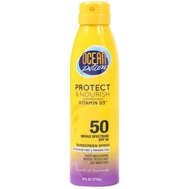 Ocean Potion 6-ounce Suncare Protect & Nourish Sunscreen Spray SPF 50