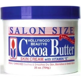 Hollywood Beauty Skin Creme Cocoa Butter, 25 oz