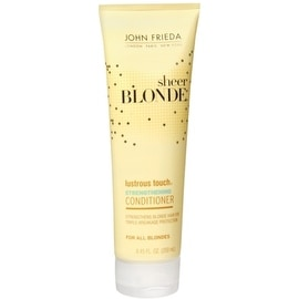 John Frieda sheer blonde Lustrous Touch Strengthening Conditioner 8.45 oz