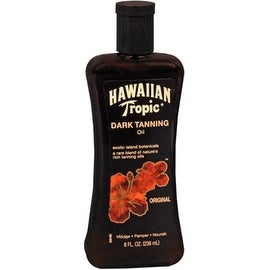 Hawaiian Tropic 8-ounce Dark Tanning Oil Original