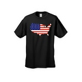Men's USA Flag T Shirt Patriotic Country Pride Stars & Stripes Proud American - Thumbnail 4