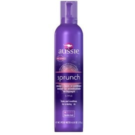Aussie Catch The Wave Mousse + Leave-In Conditioner Flexible Hold 6.80 oz