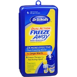 Dr. Scholl's Dual Action Freeze Away Wart Remover 7 Each