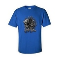 MEN'S BIKER T-SHIRT High Roller SKULL IN TOP HAT DICE ROYAL FLUSH S-2X 3X 4X 5X - Thumbnail 2