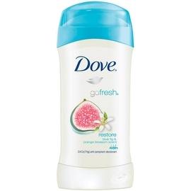 Dove Go Fresh Anti-Perspirant Deodorant, Restore, Blue Fig & Orange Blossom 2.6 oz