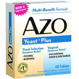 AZO Yeast Plus Tablets 60 ea