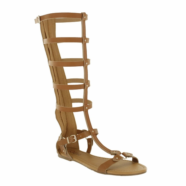 Red Circle Footwear Women's 'Anlia' Gladiator Sandal