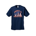 Men's T-Shirt USA Flag Pride Property of Athletic Dept. 1776 Old Glory Patriotic - Thumbnail 3