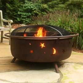 Sunnydaze Cosmic Fire Pit