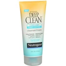 Neutrogena Deep Clean Long-Last Shine Control Cleanser/Mask 6 oz