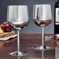 Concord Stainless Steel Wine Glasses, Set of 2 - Thumbnail 0